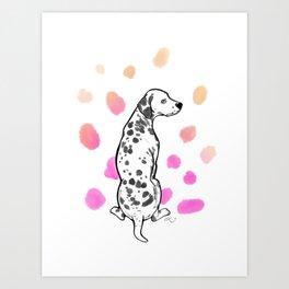 Dalmatiner Art Print