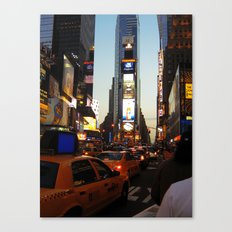 New York Streets. Canvas Print