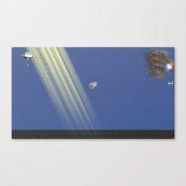 War Stars: Ships Canvas Print