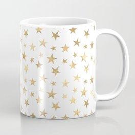 Gold Stars Coffee Mug