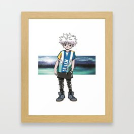 Killua Hunter X Hunter Framed Art Print