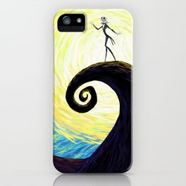 Starry Nightmare iPhone Case
