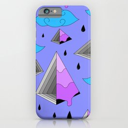 Purple Py iPhone Case