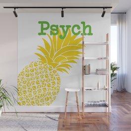 Minimalist Psych Wall Mural