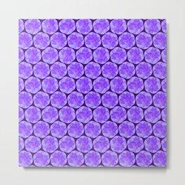 Spiraling Lavender Pattern Metal Print