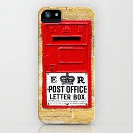 Old British Post Box iPhone Case