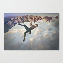 In the Sky Canvas Print