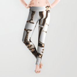"""Sew It's Quirky"" by Murray Bolesta Leggings"