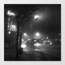 A Streetcar Named Noir Canvas Print