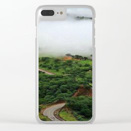 Oman Salalah 4 Clear iPhone Case