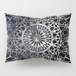 Fire Blossom - Black Pillow Sham