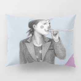 clown and lots of dots Pillow Sham