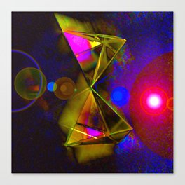 Blackhole Prism Canvas Print