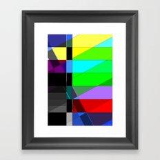 Black out. Framed Art Print