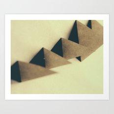 Pyramidal Tract Art Print