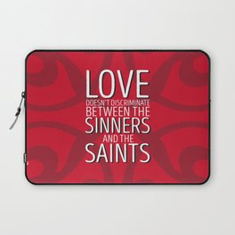 Love Doesn't Discriminate Laptop Sleeve