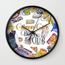 GG Book Club WhiteBG Wall Clock