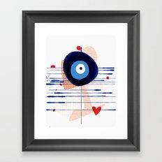 Good luck, Dear! | Modern Happy Art Framed Art Print