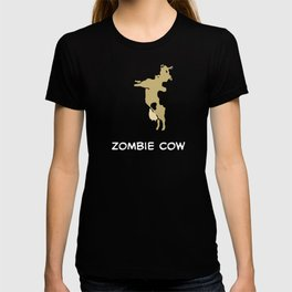 Zombie Cow Funny Design And Coolest Gift T-shirt