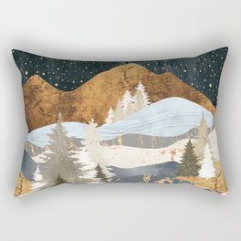 Winter Stars Rectangular Pillow