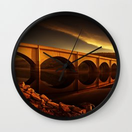 Ashopton Sunrise Wall Clock