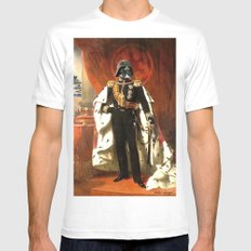 King Vader Mens Fitted Tee MEDIUM White