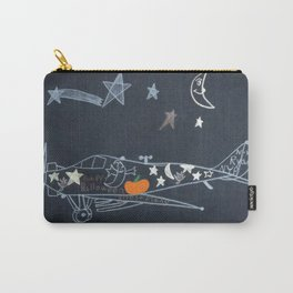 Halloween Plane Ride Carry-All Pouch