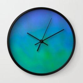 Powder Drop I Wall Clock