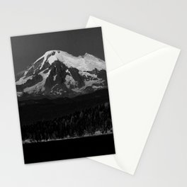 mount baker from the san juan islands Stationery Cards