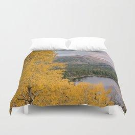 ROCKY MOUNTAIN AUTUMN COLORADO NATIONAL PARK LANDSCAPE PHOTOGRAPHY Duvet Cover