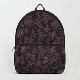 purpur // purple branches, delicate flowers Backpack