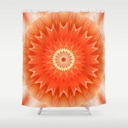 Mandala Aura Shower Curtain