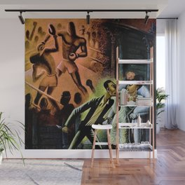 African American Masterpiece 'Carmen Jones No. 3 by Miguel Covarrubias Wall Mural