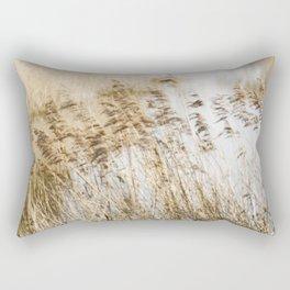 Riverside Grass Rectangular Pillow