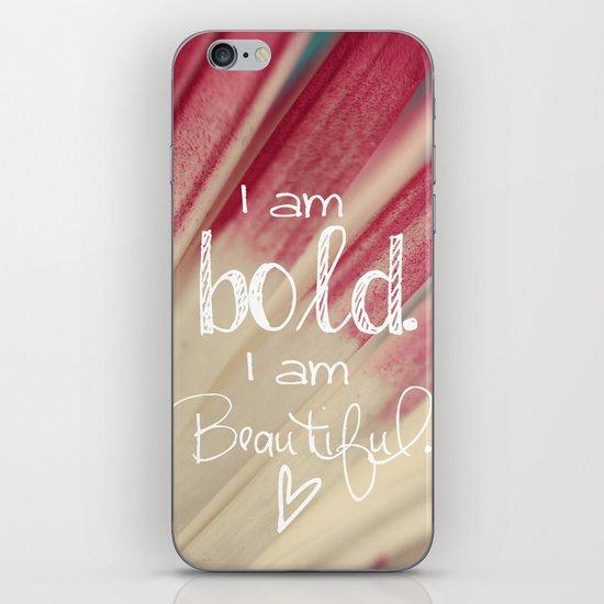 Bold and Beautiful iPhone & iPod Skin