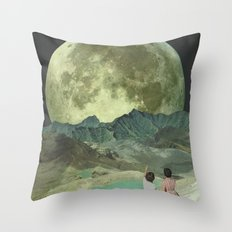 The last of the Supermoons Throw Pillow