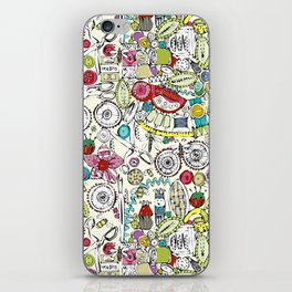 bits and bobs and bugs iPhone Skin