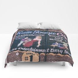 Rum Boogie Cafe Comforters