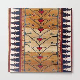 Azerbaijani Northwest Persian Carpet Print Metal Print