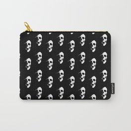 Skull - White Carry-All Pouch