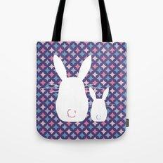 Bunny / Vintage pattern #4 Tote Bag