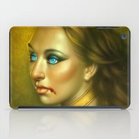 vampire iPad Cases featuring Vampire by George Patsouras