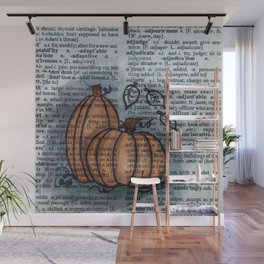 Pumpkin Pals Wall Mural