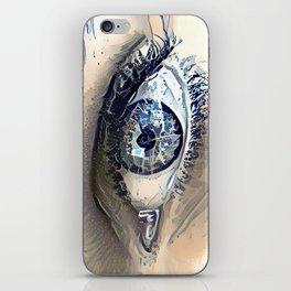 Delft Blue Eye iPhone Skin
