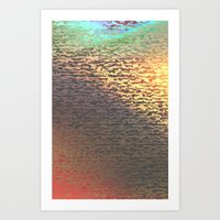 An idea of Sunset Art Print