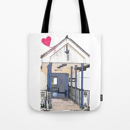 Victorian Cliff Lift Southend Tote Bag