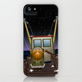 The Work of Saphron Burrows iPhone Case