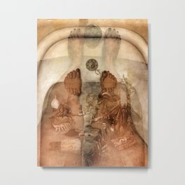What We Saw in The Water Metal Print