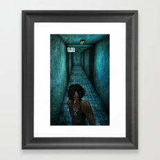 O ciume Framed Art Print