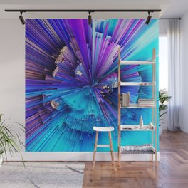 Interference - Abstract Art Wall Mural